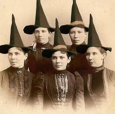 ... only hope these young ladies were no where near Salem MA around 1692