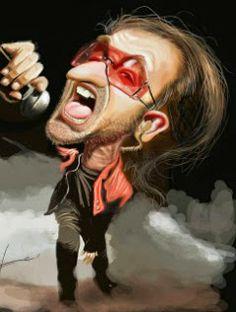UNIVERSO NOKIA: Bono Vox-wallpaper