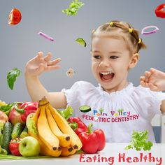 Fill a child's lunch box with healthy lunch food and snacks such as lean meats, whole grain breads, low-fat yogurt or cheeses, apples, bite-size carrots and baked chips or whole-grain crackers. Besides being packed with nutrients, certain fruits and veggies can even help clean the teeth and gums.   Palm Valley Pediatric Dentistry