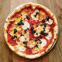 Margherita pizza from Pizzetta 211 in San Francisco