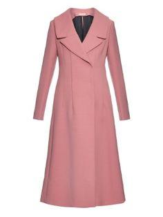 Wide notch-lapel wool-blend coat | Marni | MATCHESFASHION.COM US
