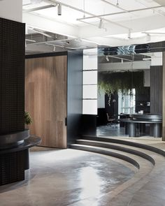 Woodcut Showroom by Mim Design | Yellowtrace