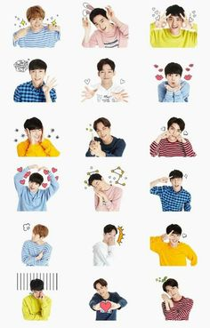 ᴋ-ᴘᴏᴘ ᴡᴀʟʟᴘᴀᴘᴇʀs. Tumblr Kpop, K Pop, Exo Stickers, Printable Stickers, Exo For Life, Exo 12, Chanyeol Baekhyun, Exo Group, Exo Fan Art
