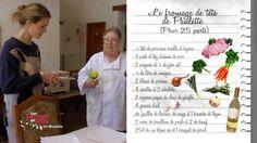 Recette : fromage de tête - Les carnets de Julie Charcuterie, Foie Gras, Lorraine, Appetizers, Cooking Recipes, Head Cheese, Bread Cake, Appetizer, Entrees
