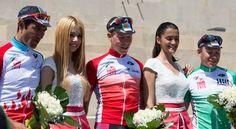Synergy Baku's Jerseys Row :) #TourDAz #bicycle #cycling #bike #keepcycling #cyclist #finish #Synergy #Baku #Azerbaijan