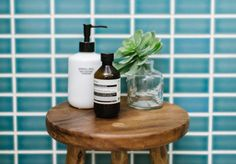 How to turn your small bathroom into a mini spa (& two storage DIYs)