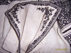 FolkCostume&Embroidery: More on the costume and embroideryl from Sokal' region, Ukraine