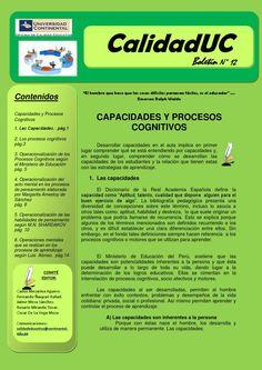 Boletin 12 calidaduc capacidades y procesos cognitivos