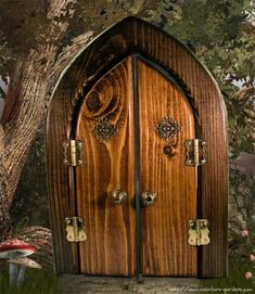 fairy garden doors | Important Note: - Items are individually handcrafted and may vary ...