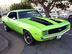 American Muscle Cars… 1969 SS Chevrolet Camaro 350