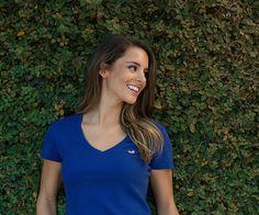 Southern Marsh Collection — Caroline Women's V-Neck T-Shirt - Cotton