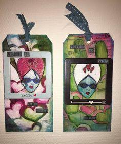 Hekta på papirkunst: Inspirasjon til #2. DT bidrag for Scrappiness. Cards, Painting, Painting Art, Paintings, Maps, Painted Canvas, Playing Cards, Drawings