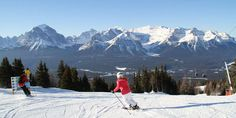 Lake Louise Canada, the most beautiful ski resort in the Canadian Rockies http://www.boston.com/travel/explorene/specials/ski/blog/2014/11/ski_bucket_list.html