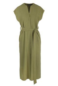 Sukienka LISA green long