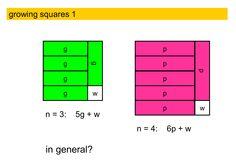 numeros cuadrados