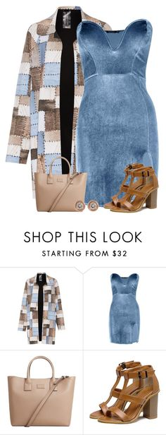 """""""Blue Velvet Dress"""" by majezy ❤ liked on Polyvore featuring Norma Kamali, Boohoo, MANGO and Ron Hami"""