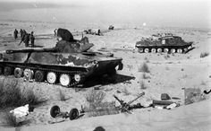 Egyptian PT-76B and BTR-50 were lost in Yom Kippur War.