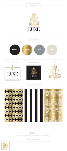 Emily McCarthy | Luxe Signature Events Branding Guide