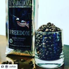 "#HonorChrisKyle  #Repost @ckffdn (@get_repost)  Follow Friday @seabaglockercoffee now supports CKFF through their patriotic-themed roasts! Owned and operated by a husband and wife team both with service to the U.S. Navy they ""get"" what it is like to be a family that serves. Shop with them to STAY ALERT while supporting mil/vet/1st responder families! 
