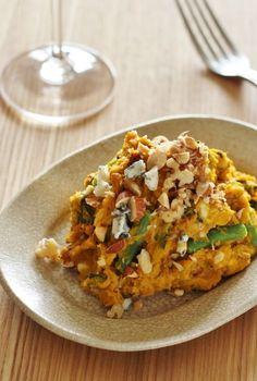 かぼちゃとゴルゴンゾーラのサラダ by toMoko(ぴくるす) / ゴルゴンゾーラを加えたワインに合うカボチャサラダです。 / Nadia