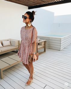 """99be3e03da7 lauren kay on Instagram: """"when you find the cutest dress ever that's also  nursing friendly! 😍 currently on sale 🙌🏻. chillin on our rooftop terrace  at…"""""""
