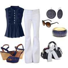 Out to Lunch, created by juliemboltz on Polyvore