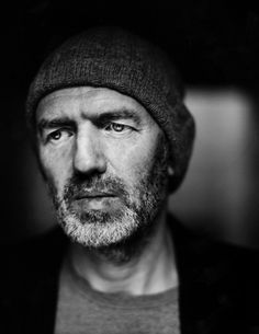 Anton Corbijn - Dutch photographer, music video director, and film director. Photo by Stephan Vanfleteren (makes me wonder if Corbijn ever took a photo of Vanfleteren. Black And White Portraits, Black White Photos, Black And White Photography, Rodney Smith, Viviane Sassen, Eric Lafforgue, Steve Mccurry, Paris Match, Moustaches