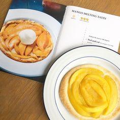 Mango Tatin Recipe and review of Mick Elysee cook book   easy mango recipe