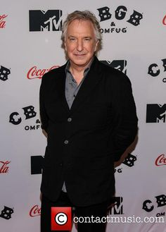 Picture - Alan Rickman | Photo 3898639 | Contactmusic. CBGB premier NYC.  I was there!!!