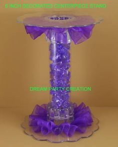 candy bar stands...would be nice in red with black tulle for the candy bar :0)