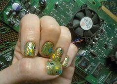 Circuit board nails :)