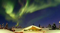 Visit Finland's Lapland to see the Northern Lights!