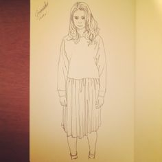 Fashion Sketch #003