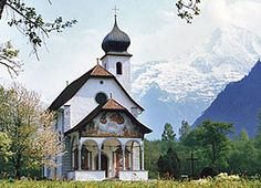 Uri's Switzerland, most romantic church