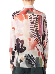 Burberry Prorsum Abstract Floral-print shirt