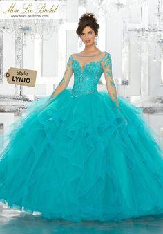 Pretty quinceanera mori lee vizcaya dresses, 15 dresses, and vestidos de quinceanera. We have turquoise quinceanera dresses, pink 15 dresses, and custom Quinceanera Dresses! Tulle Ball Gown, Ball Gowns Prom, Ball Gown Dresses, 15 Dresses, Fashion Dresses, Gown Skirt, Satin Tulle, Pageant Dresses, Dress Prom