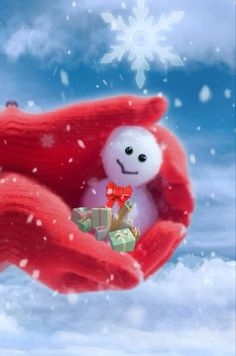 gif A little snowman for you! Merry Christmas Gif, Merry Christmas Pictures, Christmas Scenery, Christmas Music, Christmas Wishes, Christmas Snowman, Christmas Greetings, Christmas Time, Vintage Christmas Images