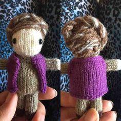 General Leia #starwars #generalleia #princessleia #forceawakens #leia #knit #toys #knitting #wool #hairstyle #hair #goinggrey #cute #knittersofinstagram #maytheforcebewithyou