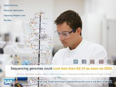 Sequencing genomes could cost less than $0.10 as soon as 2020
