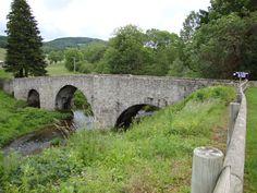 La Salvetat-sur-Agout (Hérault, Fr) pont St.Étienne-de-Cavall sur le Vèbre - La…