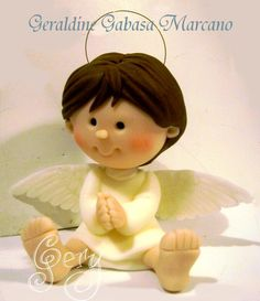 Porcelana fría - Cold porcelain - by Geraldine Gabasa Marcano
