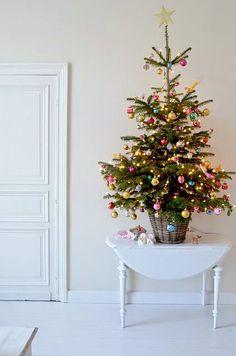 small christmas tree decor ideas cover | Christmas | Pinterest ...