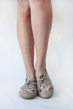The Drifter Leather handmade shoes — Sugar Tea Party - Handmade Leather & Fabric flat shoes