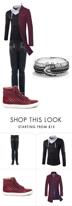 """09/01 2017"" by rasmus-herbst on Polyvore featuring Neil Barrett, Steve Madden, David Yurman, men's fashion and menswear"