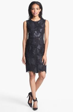Monique lhuillier lace dress nordstrom