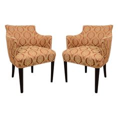 Pair of French Club Chairs
