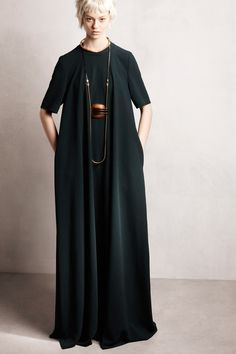 7. Lanvin   Pre-Fall 2014 Collection Similar cut and style to the granny gown, long and loose fitted