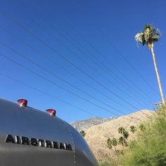 Where to next Louise? #adventuretime #liveriveted #palmsprings #airstream