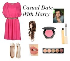 """Casual Date With Harry"" by jazzybarrera on Polyvore featuring MICHAEL Michael Kors, Aéropostale, Charlotte Tilbury, Stila and H&M"