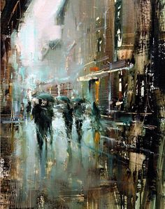 Awesome Oil painting by Tibor Nagy Fine Art Urban Landscape, Landscape Art, Landscape Paintings, Oil Paintings, City Painting, Light Painting, City Art, Urban Art, Art Oil